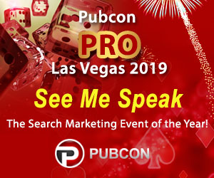 See Brian Massey speak at Pubcon PRO Las Vegas 2019