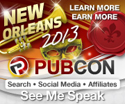 Join me in April at PubCon.