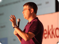 Google's Matt Cutts. Photo: Michael Dorausch
