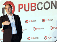 Michael Slaby, Pubcon New Orleans 2013 Kickoff Keynote Speaker. Photo: Tim Ash
