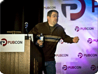 Matt Cutts Reaction During Pubcon