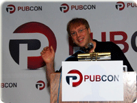Internet Marketing Ninjas Founder Jim Boykin at Pubcon